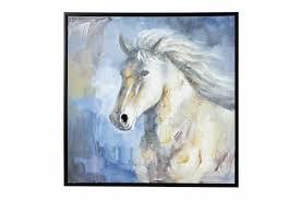 charlton home horse framed painting