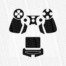Sony Playstation 4 Ps4 Gen 4 Dualshock Skin Template For Etsy