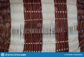 The Structure And Background Of The Wicker Basket Pattern Round Texture Vertical And Horizontal Weave Stock Photo Image Of Culture Fiber 153783386