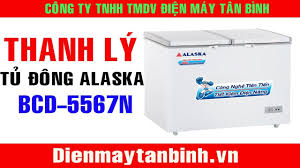 Bán Thanh lý tủ đông cũ Alaska BCD-5567N (95% - BH 12 tháng) - YouTube