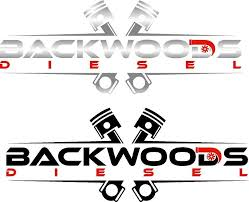 Backwoods Diesel Vinyl Die Cut Decal 8 X3