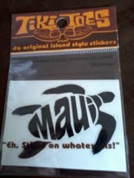 Free Tiki Toes Brand Maui Turtle Vinyl Sticker Decal Other Car Items Listia Com Auctions For Free Stuff