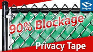 Privacy Fence Tape By Fenpro Youtube