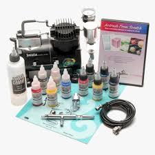 iwata airbrush kit hd png