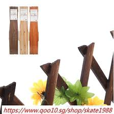 wooden garden wall fence panel plant