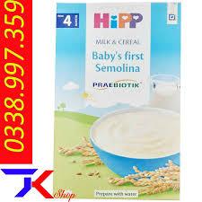 Bột Ăn Dặm HiPP Gạo Sữa Cho Bé Từ 4 Tháng