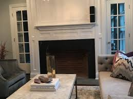 should i paint my red brick fireplace