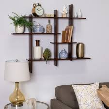 simple wall shelf decor ideas for open