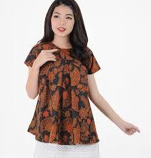 Pilih warna pastel agar terlihat casual. 30 Model Atasan Batik Wanita Terbaru 2019 Modern Stylish