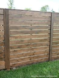 Tips For Staining A Fence Taryn Whiteaker