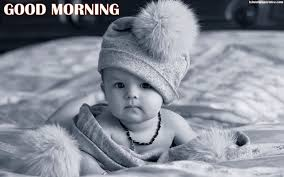 cute baby pics with good morning hd