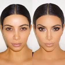 kim kardashian without makeup looks