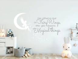 Fairy Wall Decal Fairy Wall Sticker Nursery Wall Art Wall Etsy