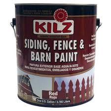 Behr 1 Gal Red Exterior Barn And Fence Paint Walmart Com Walmart Com