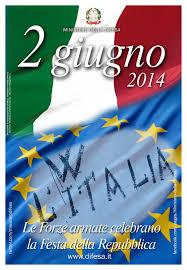 2 giugno 2014 - Manifesto Festa Nazionale della Repubblica Mobile ...