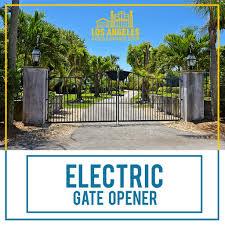 Electric Gate Opener By Lagaragedoorsgate On Deviantart