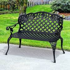 outdoor bench with back sarin me