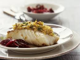 Roast Cod with Mustard recipe
