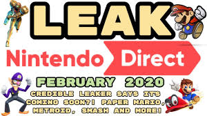 LEAKED Nintendo Direct February 2020 ...