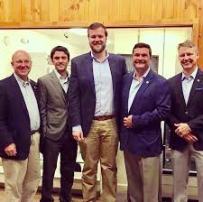 Rep. Kyle Hall - Enjoyed being in North Wilkesboro last night, along with  Reps. Jon Hardister, Julia Howard, Mitchell Setzer and former House  Majority Leaders Edgar Starnes and Mike Hager, to support