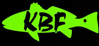 Kbf 5 Redfish Vinyl Decal Kayak Bass Fishing