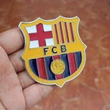 Fc Barcelona Auto Cover Decal Football Team Metal Sticker At Rs 1500 Piece Automotive Decals Id 15558356812