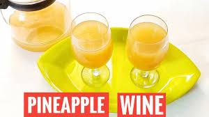 pineapple wine recipe homemade