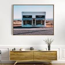 Beach Lane Canvas Framed Art