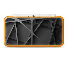 Nintendo 2ds Xl Skin Decal Vinyl Wrap Black Metal Web Panels Walmart Com Walmart Com