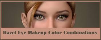 hazel eye makeup tips and best color