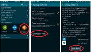 how to factory reset samsung galaxy s5