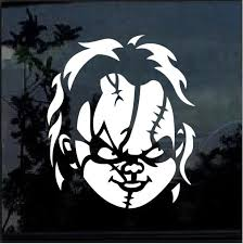 Chucky Childs Play Window Decal Sticker Custom Sticker Shop
