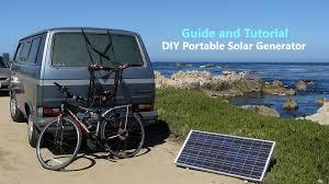 diy portable solar generator general