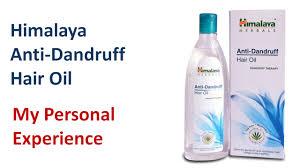hima anti dandruff hair oil my