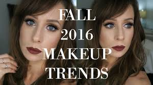 makeup trends fall 2016 you