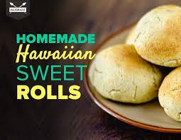 homemade hawaiian sweet rolls with