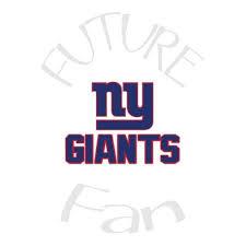 Ny Giants Flip Flops Vinyl Decal