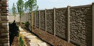 Cj S Home Decor Fireplaces Faux Stone Fence Panels The Easy Attractive Way To A Great Yard