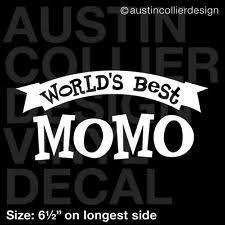 World S Best Grandparents Window Car Decal Vinyl Sticker Grandma Grandpa Fun For Sale Online Ebay