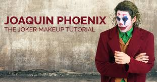 joaquin phoenix the joker makeup