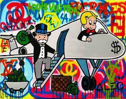 canvas graffiti art wall decor
