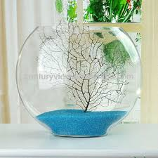 home decoration glass fish bowl