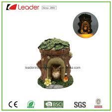 china decorative polyresin mushroom