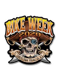 2020 Daytona Pirate 79th Anniversary 7 Decal Skullsociety