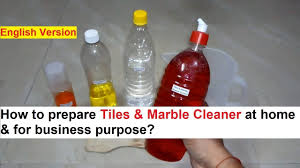tiles marble cleaner making 100 real
