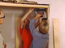 how to install a new door jamb how