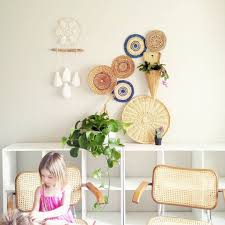 Hanging Basket To Decor Wall And Dreamcatcher Is Intristing Idea To Decor Kids Room In Boho Style Blurmark