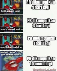 wadoooh iyo humor spongebob lucu meme lucu