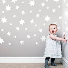 49 White Star Wall Decals Stickers White Stars Decals Etsy Star Wall Decals Wall Decals Star Wall
