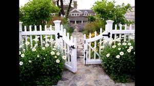 Living Your Dream House With A White Picket Fence Youtube